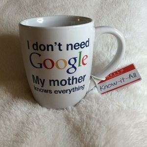 "Google Coffee Tea ""MOTHER"" Mug    NWOT"